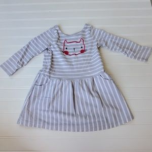 Gymboree Long Sleeve Dress with Cat